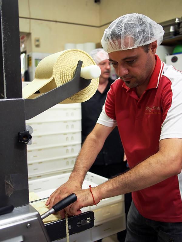 Joe Cassaniti pasta maker